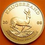 Krugerrand 1 Troy Ounce Gold Coin