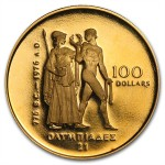 Canadian 1976 $100 Olympic Gold Coin