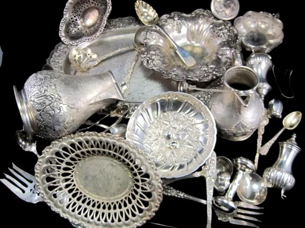 scrap silver flatware