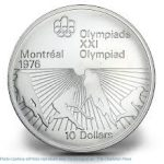 10 Dollar 1976 Olympic Coin