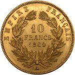 10 Franc French Gold