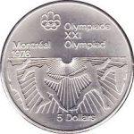5 Dollar Olympic 1976