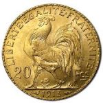 Gold French Franc