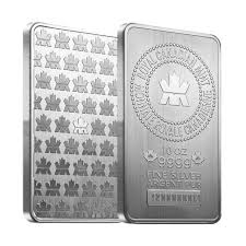 10 Ounce Royal Canadian Mint 10 Ounce SIlver Bar
