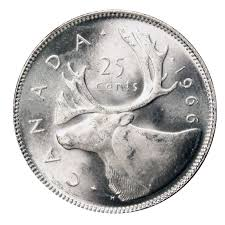 Silver Canadian Quarter Price